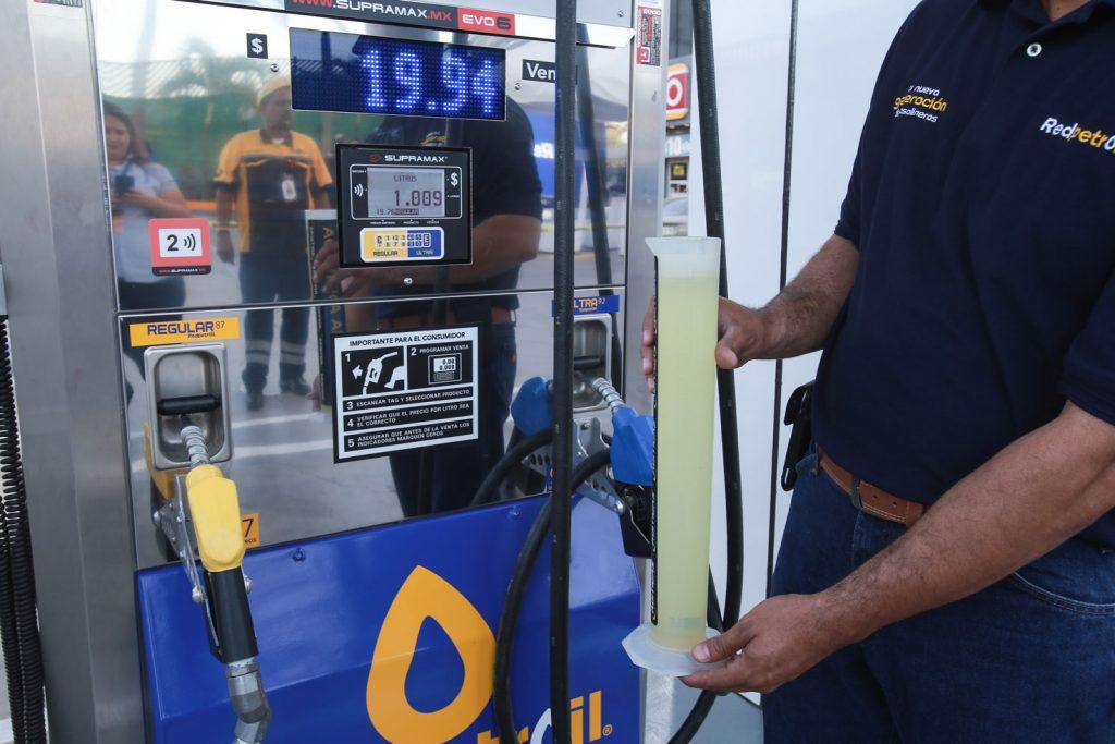 Los litros completos están garantizados en Red Petroil