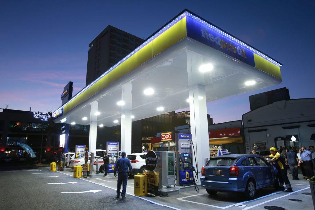La gasolinera inaugurada se ubica sobre la avenida Camarón Sábalo, en la zona dorada de Mazatlán